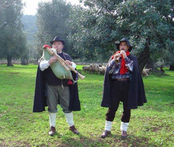 Gli zampognari dalla Puglia
