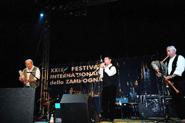 zampogna e launeddas al festival Internazionale